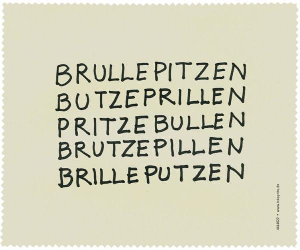 Brillenputztuch Brullepitzen
