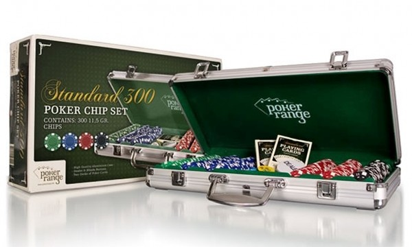 Poker Range Chip Set Standard 300