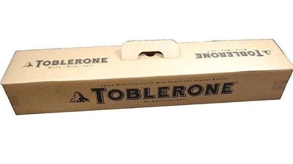 toblerone jumbo 45 kilo  geschenkboxch